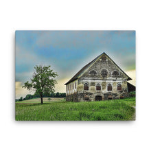 Secluded Mansion Canvas Print