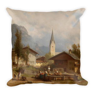At the Village Well Premium Pillow