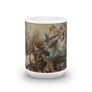Pieter Bruegel the Elder - The Fall of the Rebel Angels Classic Art Mug