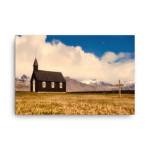 Church of the Cross Canvas Print