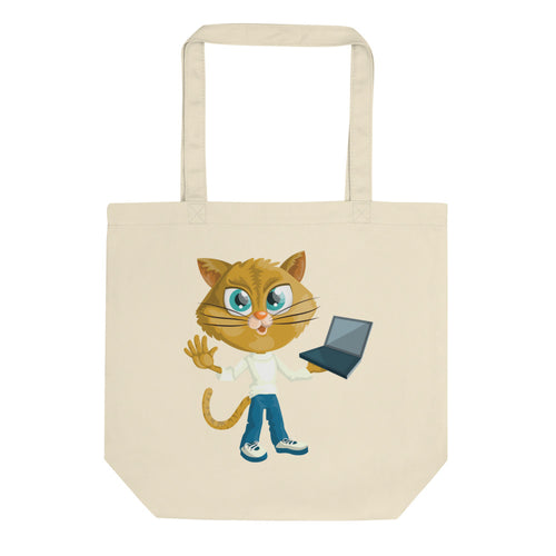 Sophisticated Foxies Eco Tote Bag