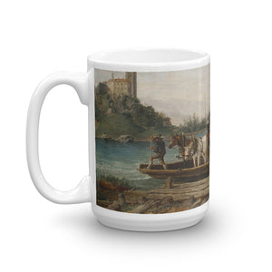 Anton Altmann - The ferry crossing Classic Art Mug