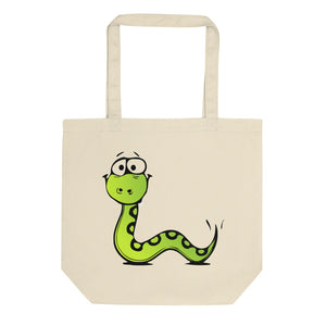 Snake and Squid Eco Tote Bag