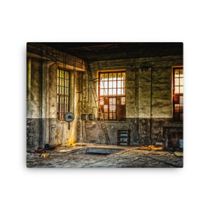 Workshop Of Despair Canvas Print