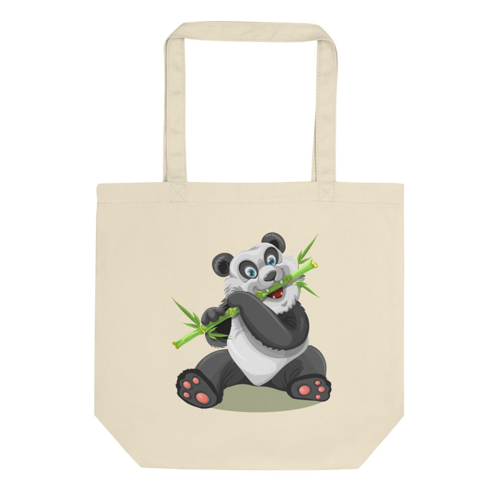 Panda and Owl Eco Tote Bag