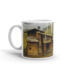 Albert Bierstadt - Mountain House Classic Art Mug