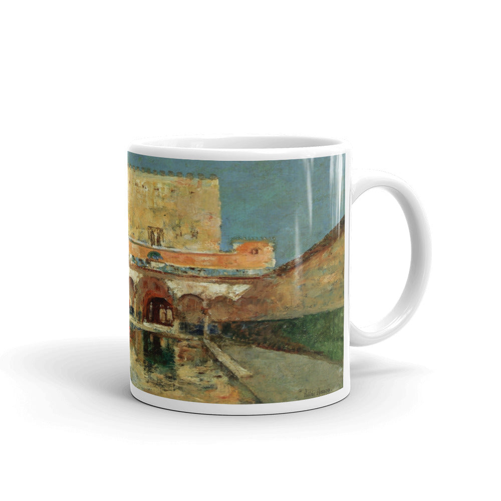 The Alhambra 1883 Childe Hassam Classic Art Mug