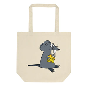 Fancy Cat And Miserable Mouse Eco Tote Bag