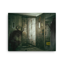 Creepy House Canvas Print