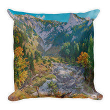 By the Mill Weir Premium Pillow