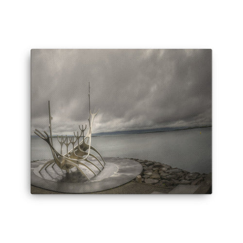 Viking Ode Canvas Print