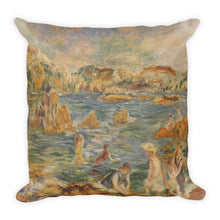 Am Strand von Guernesey Premium Pillow