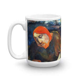 Gauguin Christ in garden Classic Art Mug