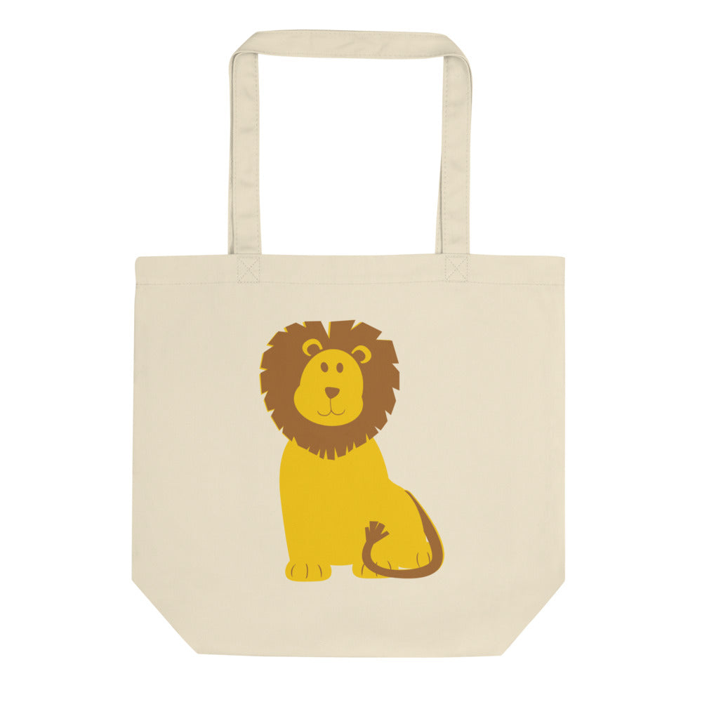 Frightening Lions Eco Tote Bag
