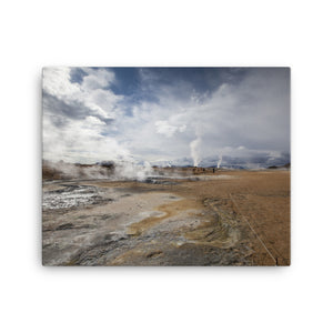 Esteemed Earth Canvas Print