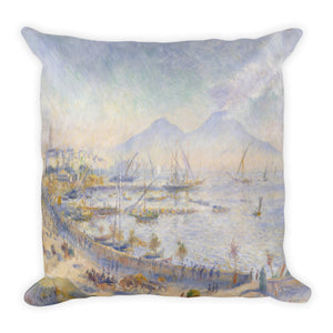 Sea and Cliffs Premium Pillow