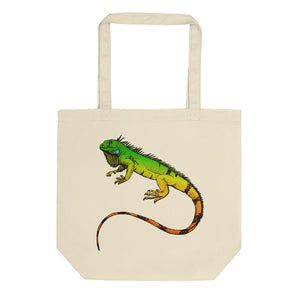 Snake and Lizard Eco Tote Bag