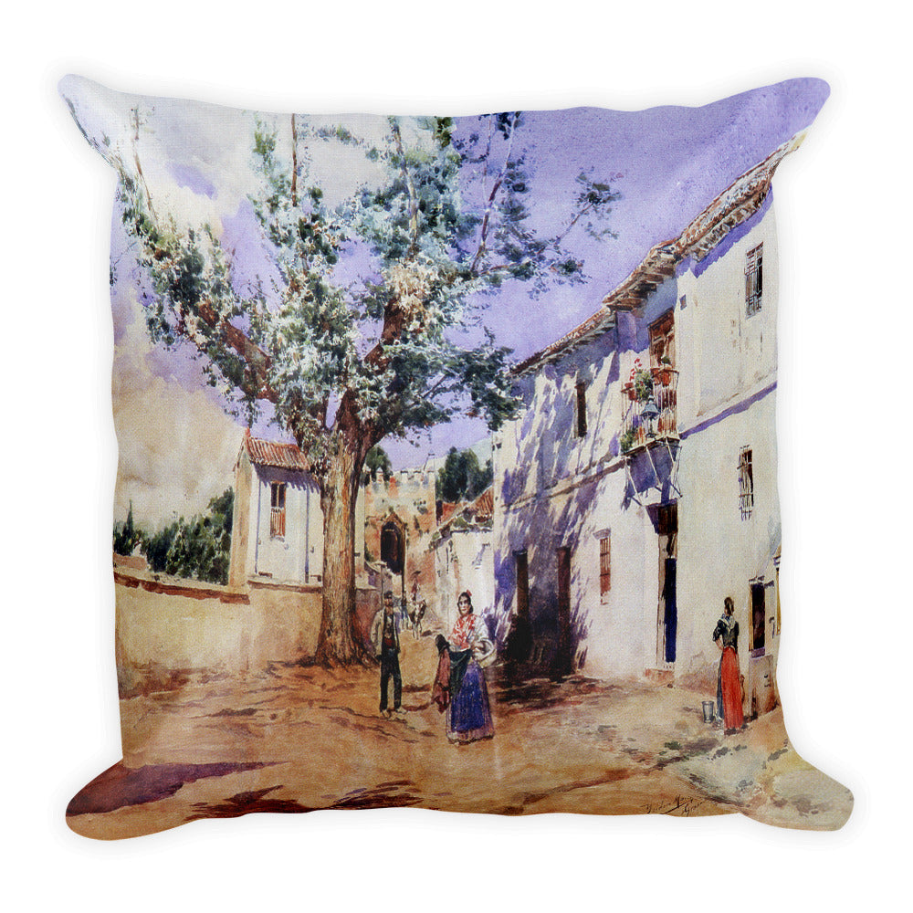 Cruz de Piedra Premium Pillow