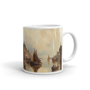 Reinhold Grohmann - View of city Classic Art Mug