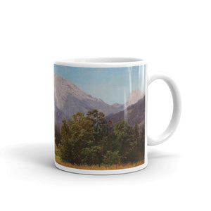 Adalbert Waagen - Motif of the Alps Classic Art Mug