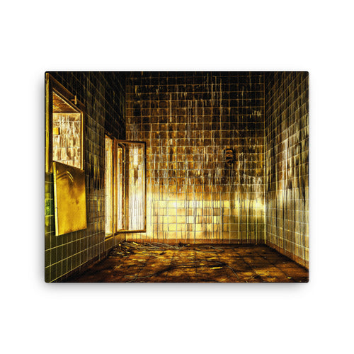 Lavatory Lost Space Canvas Print