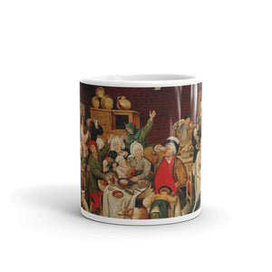 Pieter Brueghel the Younger - The king drinks Classic Art Mug
