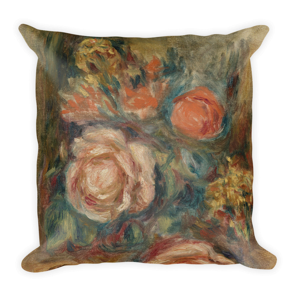 Bouquet of Roses Premium Pillow