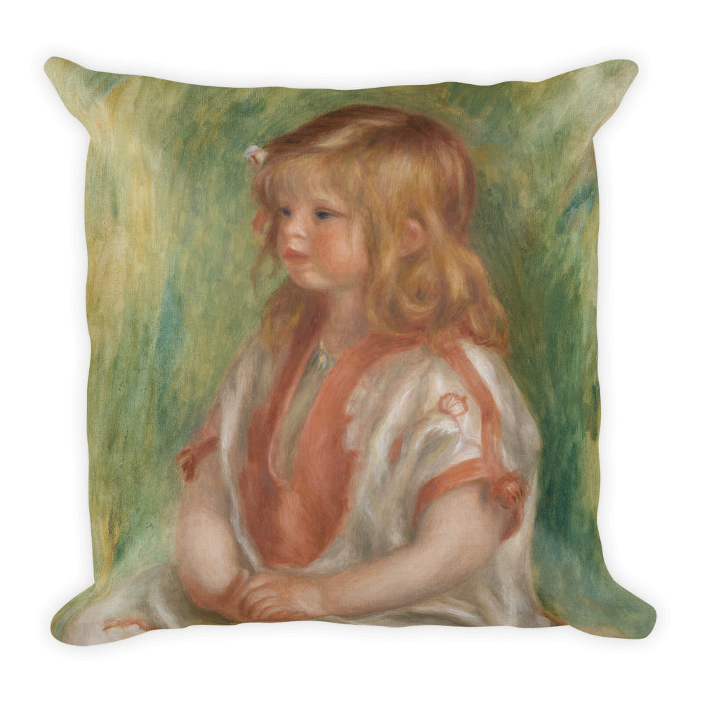 Claude Renoir Premium Pillow