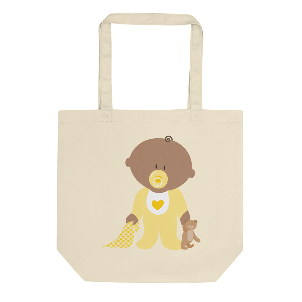 Teddy Is In Safe Place Eco Tote Bag