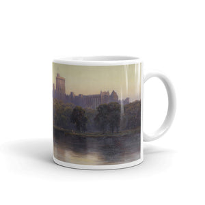 Alfred de Bréanski - Windsor Castle at sunset Classic Art Mug