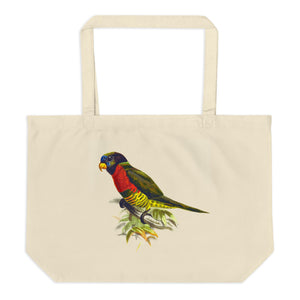 Parrot's Branch Large Organic Tote Bag