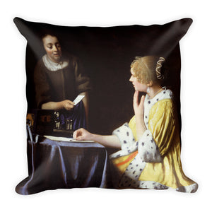 Lady Maidservant Premium Pillow
