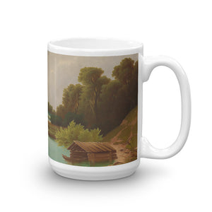 Anton Pick - View of the Mondsee Classic Art Mug