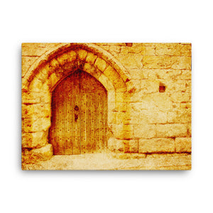 Gate of Forgotten Values Digital Art Canvas