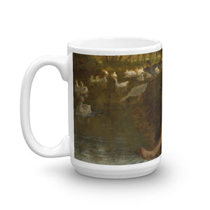 Jean-François Millet - The Goose Girl - Walters Classic Art Mug