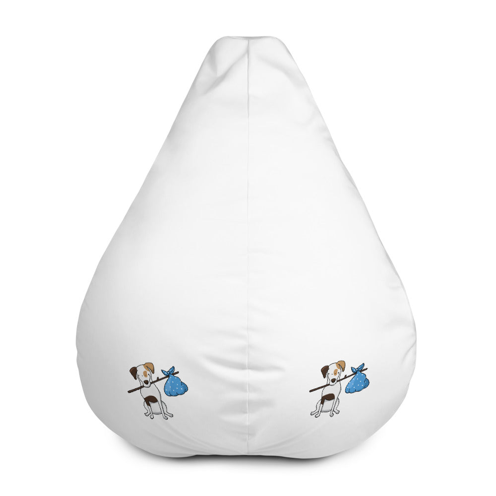 Bundle Jack Russel Bean Bag Chair w/ filling