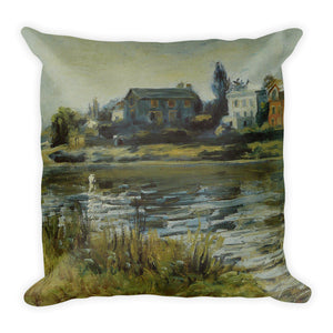 La Seine à Chatou Premium Pillow