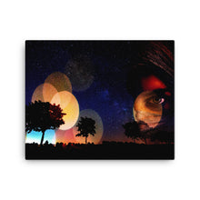 Desert Eye Digital Art Canvas