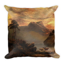Mountain lake Premium Pillow