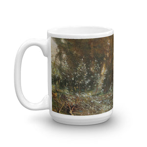 Camille Flers - River Landscape with a City in the Background Classic Art Mug
