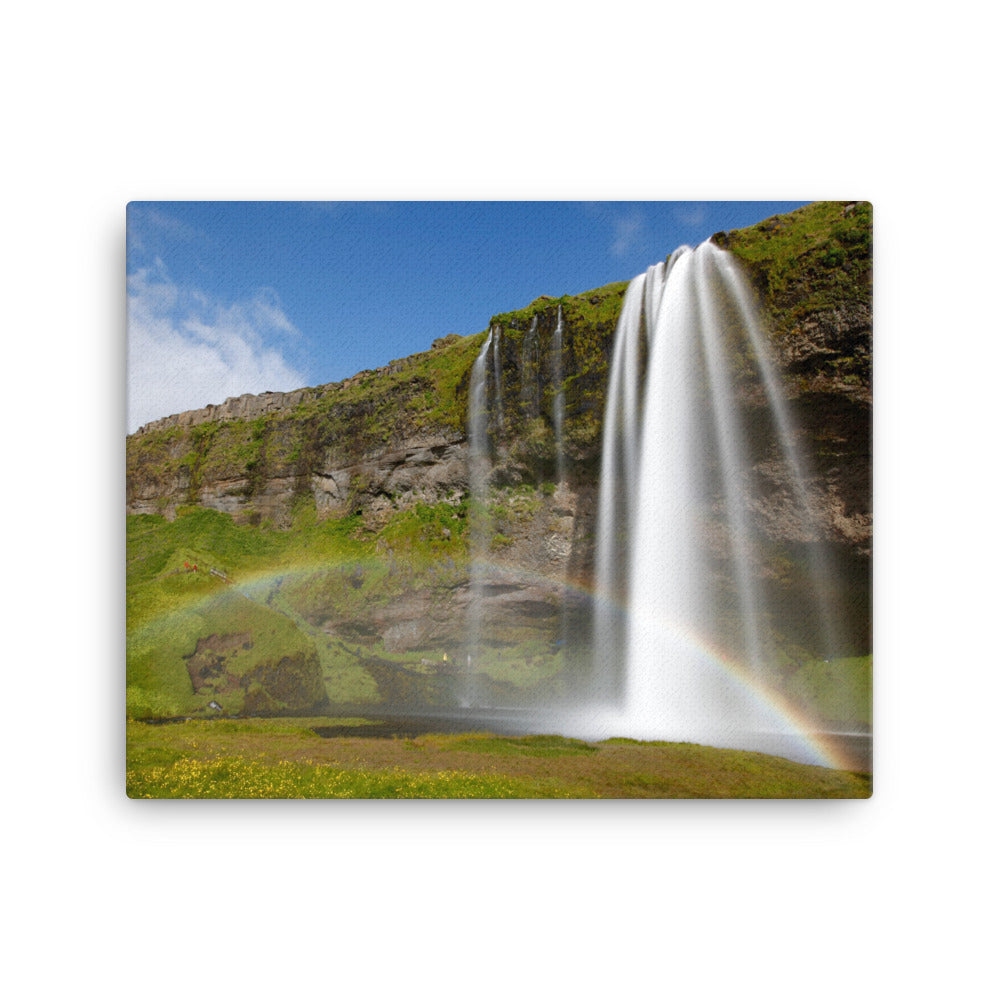 Chute of the Rainbow Canvas Print