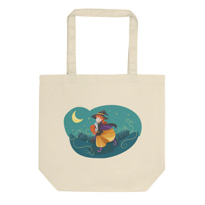 Witches And Cats Eco Tote Bag