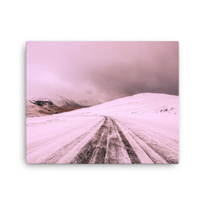 Bliss of winter Canvas Print