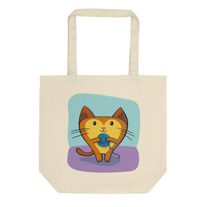Foreseeing Cats Eco Tote Bag