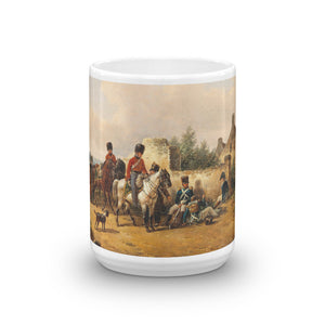 Bernard Edouard Swebach - Imperial French Soldiers Classic Art Mug