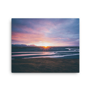 Glimpse at Dusk Canvas Print
