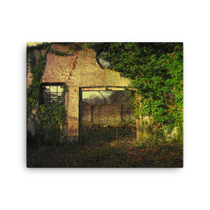 Predatory Growth Canvas Print