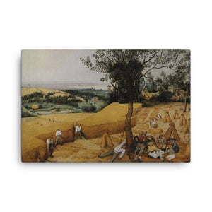 The Harvesters Classic Art Canvas