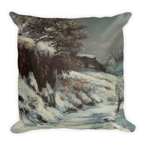 Snow effect Premium Pillow