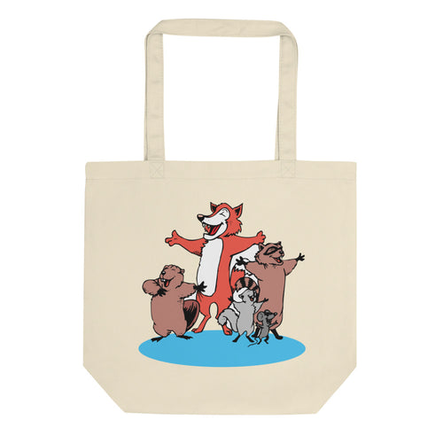 Country Versus Intellectual Animals Eco Tote Bag